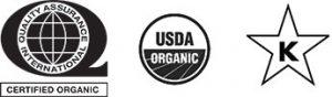 QAI, Organic and Kosher Certified
